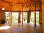 "Yoga pavilion ""Il Tondo"" (not included in the villa rental)"