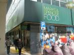 5 mins walk to Mark and Spencer FOOD