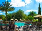 Soaking up the Sun Poolside or Enjoy the Shade in a Complimentary Cabana!