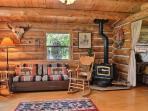 Log cabin charm