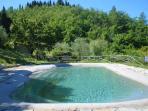 La nostra piscina con acqua salata