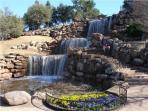 The falls of Wichita Falls - nice biking, picnics and more!