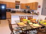 Dining and Kitchen off Lanai with Ocean View