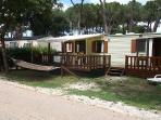 Mobile Home with 3 Bedrooms, Decking, Hammock and gas BBQ