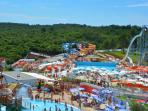 Aquapark, just 7 miles away! Great for whole family, or day off!