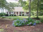 Front view of 'Aoibhneas' meaning 'joy' in Scots-Gaelic - 11 Cranwood Road Harwich Cape Cod New England Vacation Rentals
