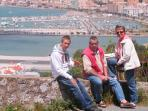 The Owners on a trip to Gibraltar, only 3hrs away--an excellent time to visit this British enclave