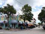 Downtown Stuart...lot of shops and restaurants with outdoor dining.