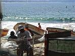 Copacabana Posto 6 - weaving the fishnet