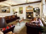 Custom Chesterfield sofas by a roaring fire? Goto 5* Elton Old Hall c1668