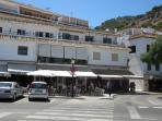 There are many shops to choose from in Mijas.