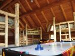 Bedroom #6: three bunk beds, game tables - great retreat for kids!