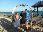 Patrick & Cassandra renew their vows at CP