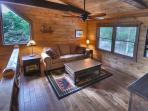 The loft is great getaway -  read a book, watch a movie or play a board game.