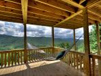 Take a nap, read a book, enjoy the views from the lower deck hammock.