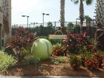 Tennis Center Entrance