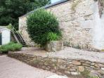 The Farmhouse has a secure courtyard garden.
