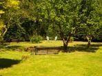 Enjoy the garden - there are benches and tables in the garden - perfect for an outdoor cuppa!