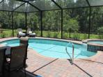 Pool area and lanai
