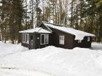 Camp in wintertime