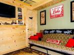Rec room TV area