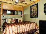 Basement bedroom/King bed