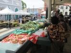 ...the daily farmer's market at historic Market Square...