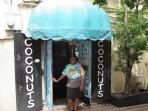 ...across the street is Coconuts, a classic tropical dive bar with an awesome burger...