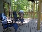 Lounge/BBQ on the expansive covered-deck