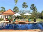 Pool (20 metre Private Pool and Jacuzzi) and Garden