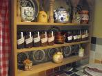Home-made jams, chutneys & preserves