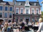 Montreuil july 14th 2015 Largest Brocante in Northern France.