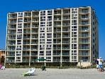 The Pinnacle is an OceanFront Condo with 2 balconi