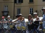 Cycling in Lucca