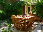 jardin et atelier de poterie