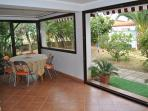 veranda a vetri
