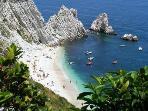 Spiaggia Urbani, Riviera del Conero - 45 minutes from Casa Colognola