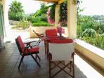terrace wtih sunbed