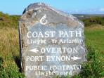 Port Eynon to Oxwich, Beautiful walk along the South Wales Coastline spring, summer or autumn