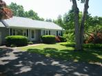 Front view. Small private quiet neighborhood near walking paths and bike trail