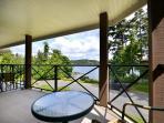Private balcony view