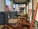 Hang out on the covered porch and sip a cup of coffee while watching the sunrise. Or just enjoy the scenery while...