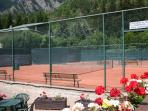 Campi da tennis a breve distanza / Tennis courts nearby
