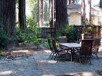 Monte Rio Treehouse, Flat yard, serene redwood setting