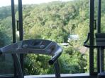 Working out with a view