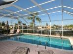 Large Solar & electric heated Pool
