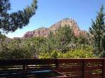 Thunder Mtn. view from hot tub on deck