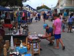 Local flea market on Sunday's