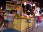Night market's nearby