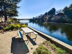 Riverside picnic area (shared with unit B)